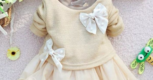 Off white christmas girls dress baby infant newborn for age 0 3 6 9