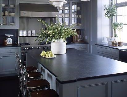 Dark Gray Countertops