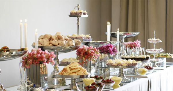 By Word Of Mouth Catering Sandton South Africa Dessert Table
