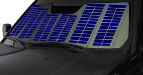 Charge Your Car Or Phone In Case Of Emergency Or While Parked At Work With The Windshield Solar Charger With Images Solar