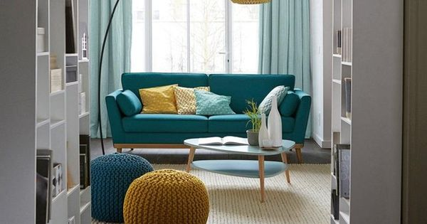 pouf rond tress bisho salons living rooms and decoration. Black Bedroom Furniture Sets. Home Design Ideas