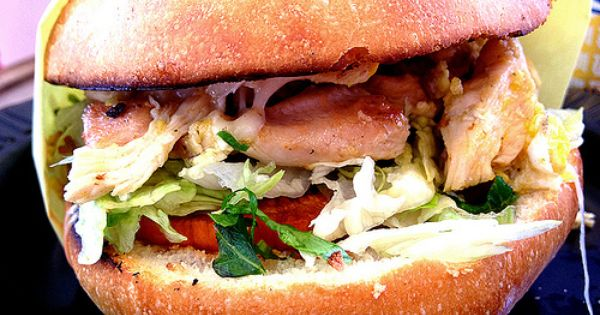 Bacon, Lettuce, Tomato, Avocado, And Egg Sandwich ...