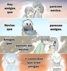 Resultado De Imagen Para Anime Tumblr Frases Amigos Que Parecen