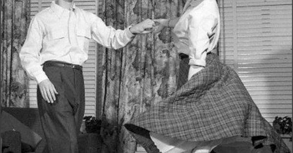 Teens 1950s Teen Couple Dancing Jitterbug Life In The