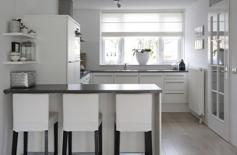 Huisjekijken gespot keuken bar kitchens pinterest bar b squeda y ramen - Uitgeruste keuken met bar ...