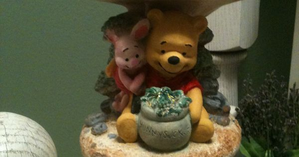 after painting the winnie the pooh garden statue how does my garden grow pinterest garden. Black Bedroom Furniture Sets. Home Design Ideas