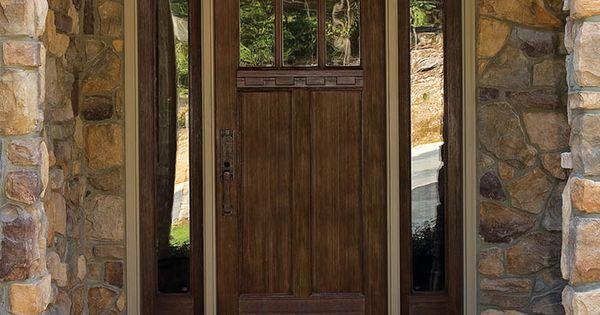 Block door therma tru classic craft american style for Therma tru classic craft american style collection