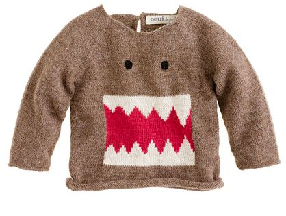 I really want my baby boy!!! Baby monster sweater