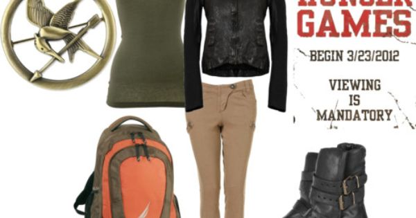 perfect, THE Katniss outfit for the Hunger Games premiere.....40 days! - For