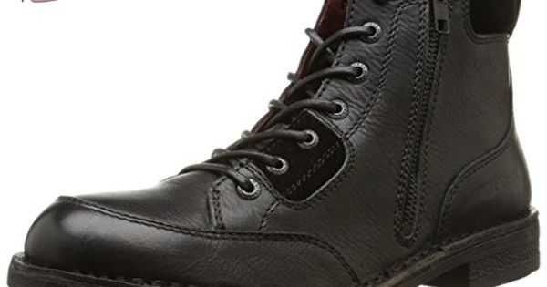 Kickers Banzo, Boots homme, Noir, 45 EU Chaussures kickers
