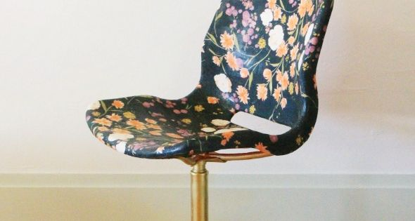 This is the most incredible Ikea hack I've ever seen. Fabric, mod