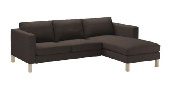 karlstad loveseat and chaise lounge ikea a range of. Black Bedroom Furniture Sets. Home Design Ideas