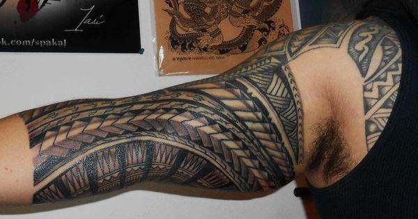 American samoan forearm tattoos photo tatouage bandages samoa sur l int rieur du bras ou - Tatouage interieur biceps ...
