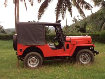 My Dad S 1969 Red Mahindra Jeep Mahindra Jeep Jeep Engine Types
