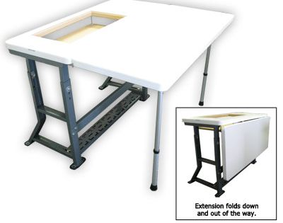 Sewing Table With Extension Quilts Pinterest