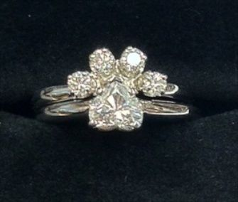 30++ Dog paw print jewelry rings viral