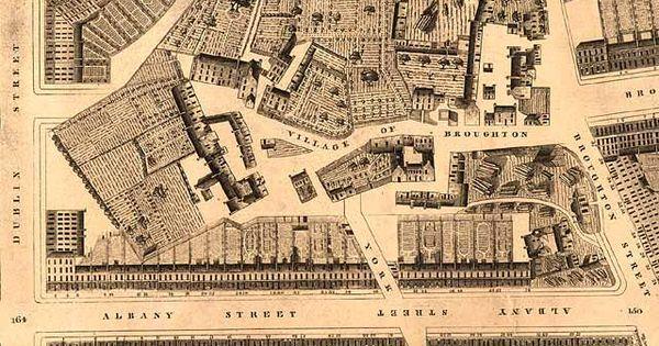 Map of edinburgh by elevation robert kirkwood 1819 rep for Kirkwood elevation