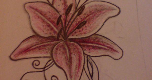 Small Lily Tattoos | Lily Tattoo Designs | Tatoos