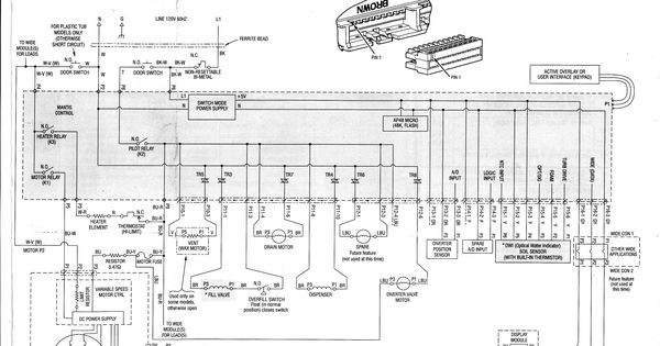 Kenmore Dishwasher Wiring Diagram And Wiring Diagram New Washing Machine Motor Diagram Wire