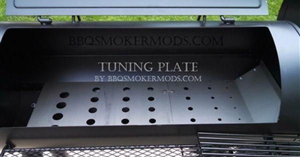 Oklahoma Joe Longhorn Horizontal Baffle Plate Heat Deflector Tuning Plate By Lavalock Offset Smoker Bbq Smokers Smoker Plans