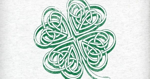Shamrock Celtic Knot Tattoo Idea