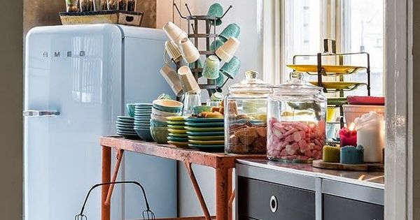 pinterest the worlds catalog of ideas - Frigo Bleu