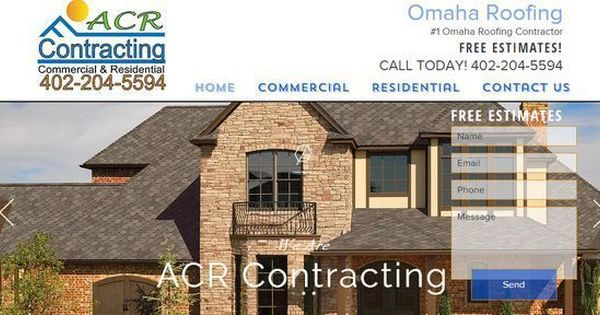 Acr Contracting Is A Full Service Roofing Company Located In Omaha Ne Offering A Full Range Of Commercial And Roofing Roofing Contractors Residential Roofing