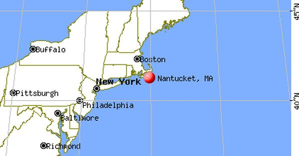 Image Result For Where Is Nantucket On The Map Rhode Island New