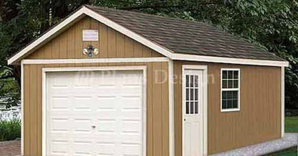 12 X 20 Garage Plans Shed Building Blueprints Design 51220 Building A Shed Garage Plans Shed Plans