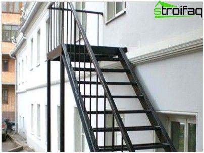 السلالم المعدنية أمثلة من التصميم والتكنولوجيا التركيب Escaleras Exteriores Imagenes De Escalera Escaleras De Acero