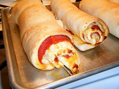 Pepperoni Pizza Roll Up