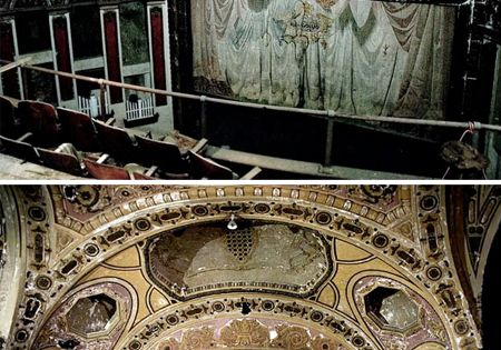 abandoned theaters...under-appreciated old stuff. I LOVE LOVE LOVE abandoned theatres!