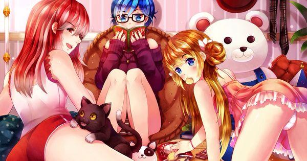 Audrey, Tiffany, and my waifu Nikki