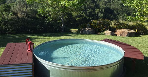 10x2 Galvanized Stock Tank Pool Stock Tank Pool