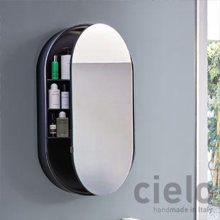 Designer Bathroom Mirrors Catino Oval Box Mirror Bathroom Mirror Shower Over Bath