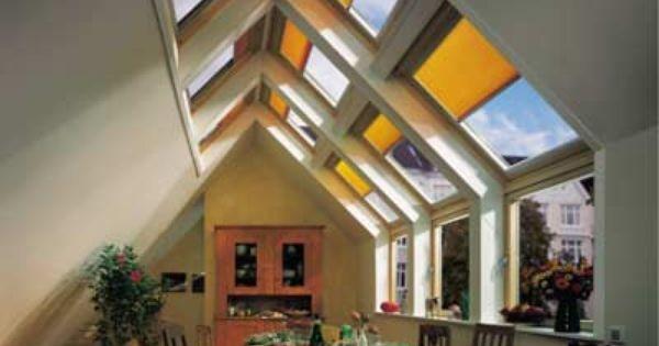 Offene Küchen bringen Weite unters Dach | Dachneigung, Dachfenster ...