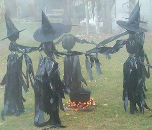 19++ Diy witch decorations for halloween inspirations