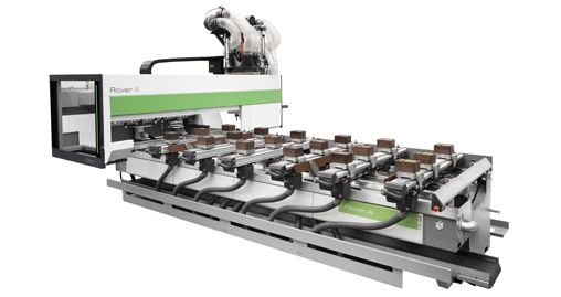 Biesse Rover A 5-Axis CNC Machining Center | Woodworking machine, 5 axis cnc, Woodworking machinery