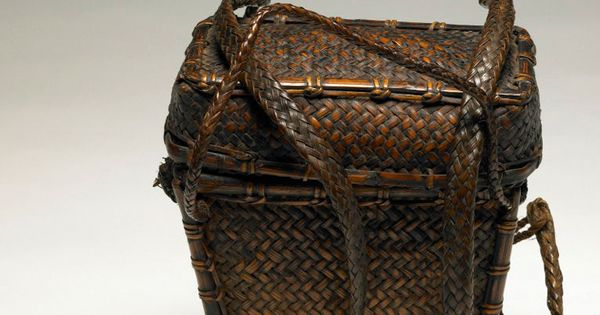 Basket Weaving Of Ifugao : Backpack basket from the ifugao people of philippines