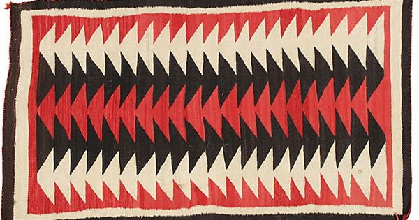Antique Navajo Rug 3 X 5 Native Americans Pinterest