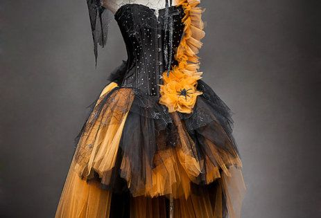 halloween dress to wear halloweenideas costume halloweencostume orange black witch ideas halloweenideas