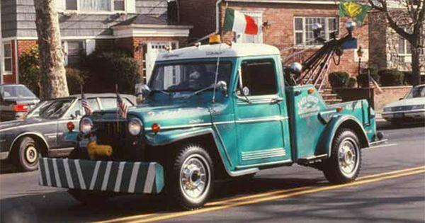 Willys Jeep Wrecker Tow Truck Photo On Ebay Ewillys