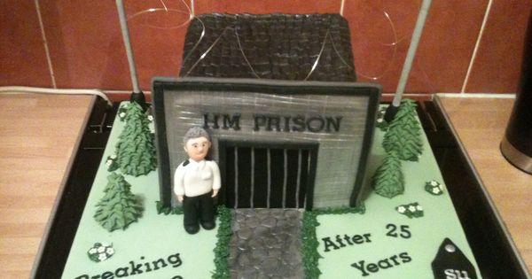 Prison Officer Retirement Cake Great Cakes Pinterest