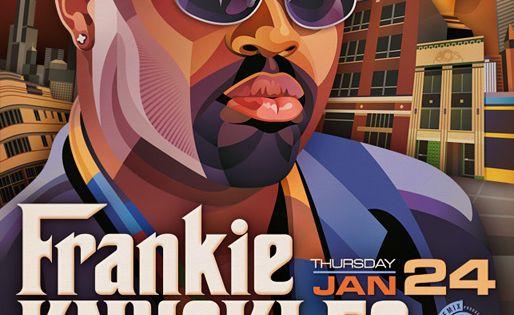 Frankie Knuckles The Block Tel Aviv Anim Illu