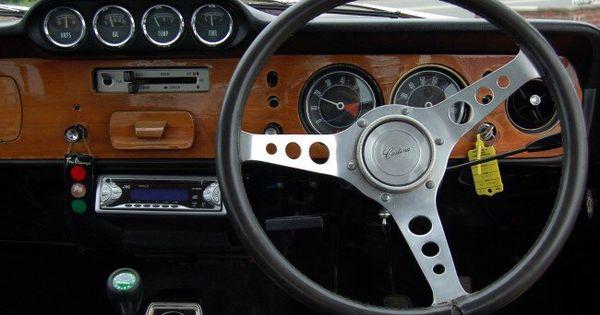 Interior Of Ford Cortina 1600e Ford Classic Cars Car Interior