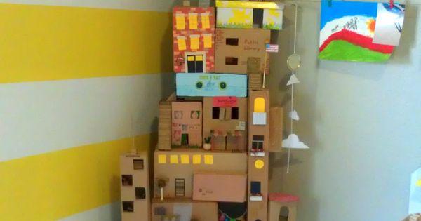 Nessa Dee: Crafty Friday: The Box House kids craft