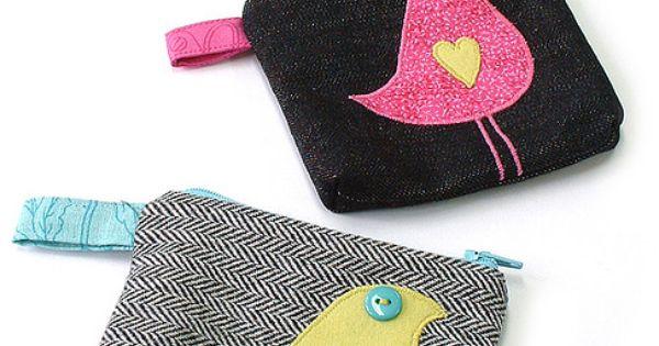 Sewing bags - Porte-monnaie
