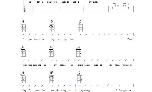 Amazing The Lazy Song Chords Ukulele Photos - Guitar Ukulele Piano ...