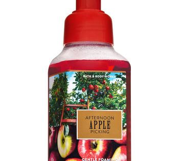 Afternoon Apple Picking Gentle Foaming Hand Soap Bath And Body