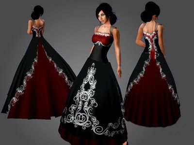 Black And Red Wedding Dresses Design Black Wedding Dresses